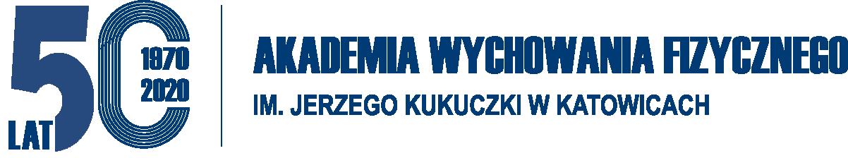 Logo 50-lecia AWF Katowice